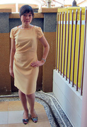 New Look 6000: Yellow Gold Dress