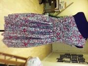 McCalls 5850, Step One of Wedding Rehearsal Dress