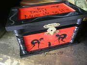 """""""The Devil Made Me Do It"""" small jewelry box"""