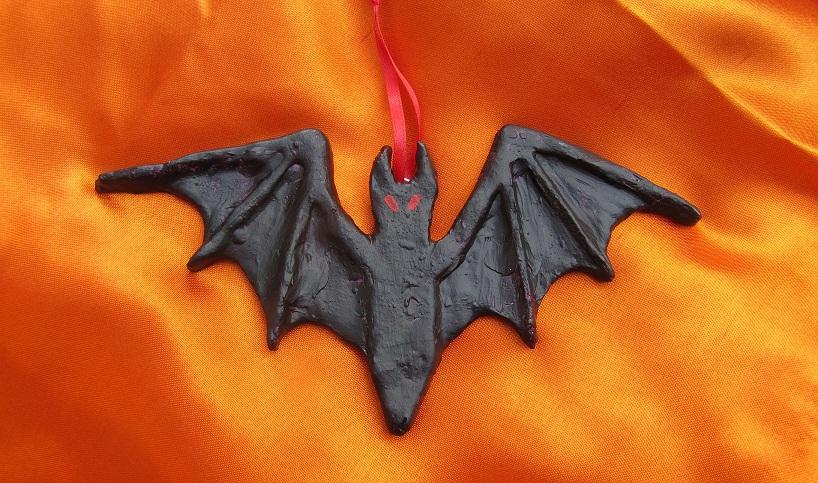 .Bat (no.2) Halloween/Christmas Ornament