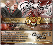 GLORY TEMPLE NEW CHURCH FLYER 588