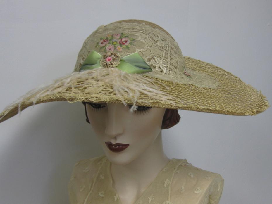 Edwardian Inspired Tea Hat
