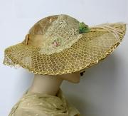 Edwardian Inspired Garden Party Hat
