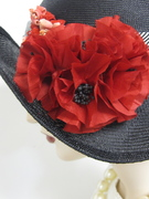Parasisal Bumper Cloche, with Poppies