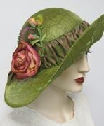 Rambling Roses Sinamay Hat