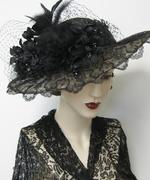 Chantilly Lace Cartwheel Hat