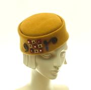 Gustav Klimt Pillbox Hat