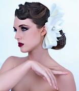 bow wedding clip
