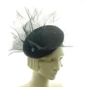 Black Fancy Hat