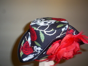 Skull and Rose tricorn