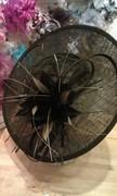 black & olive disc hat