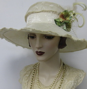 English Country Parasisal Capeline Hat