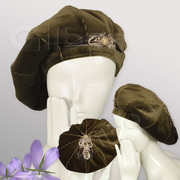 Beret/Tam-style Hat