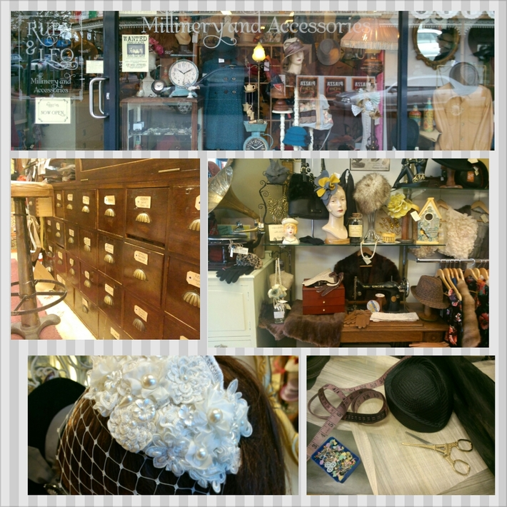 Ruby & Leo Millinery Store Geelong, Australia - How To Make