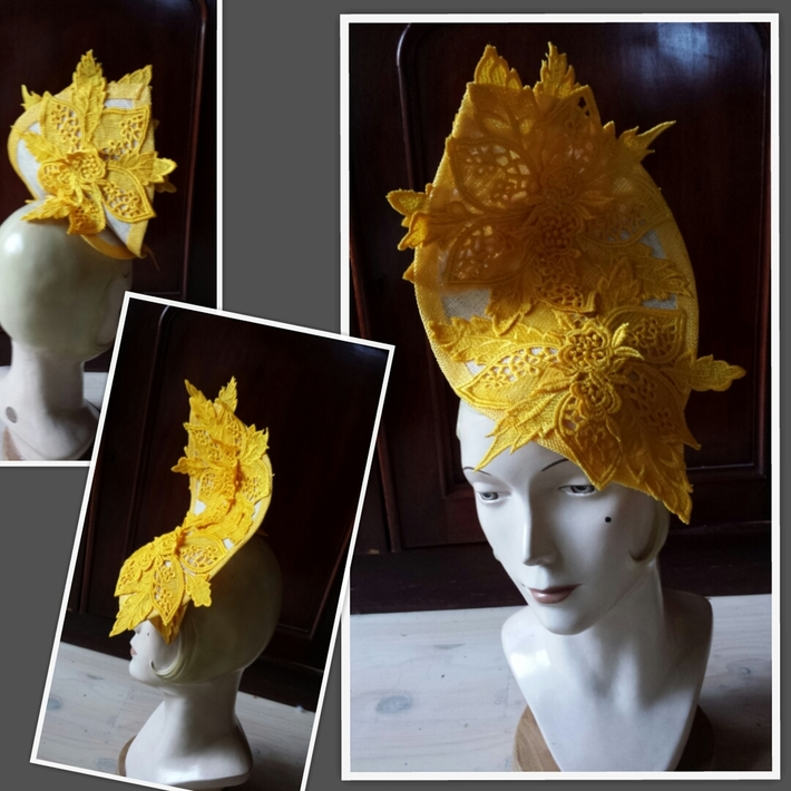Lace Hat by Victoria Henderson