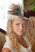Gatsby Style Hat by Ruby and Cordelia's Millinery