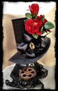 Black Widow Mourning Hat