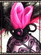 Pink Tulip Fascinator