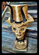 Golden Mask Hat