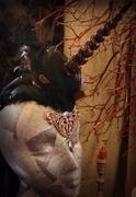 The a Dark Unicorn Custom Headdress