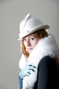 Ivory Bridal  Hat
