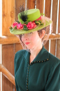 1946 Reproduction Green Felt Tilt Hat