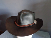 Leather Bushman's Hat
