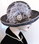 Pewter Lace Cloche