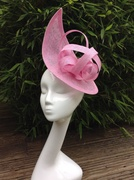 Candy pink headpiece
