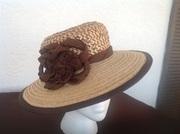 Palmetto Straw plait/braid hat