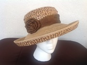 Peas and rice straw hat
