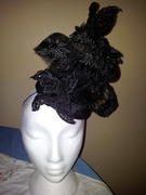 Lace millinery creations