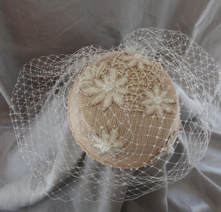Ivory Bridal Headpiece