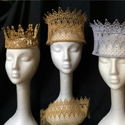 Guipure Lace Crowns