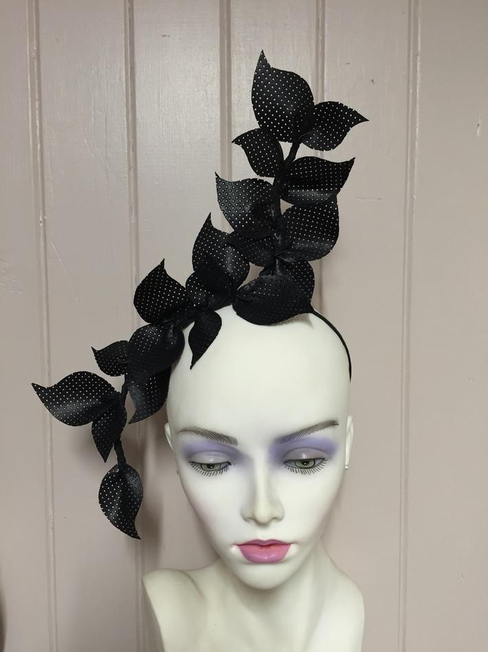 Black leather vine