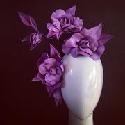 Lilac leather vine