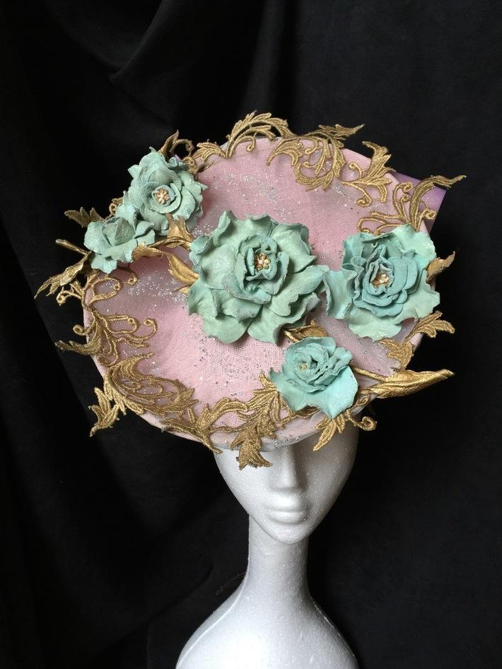Laduree-inspired headpiece