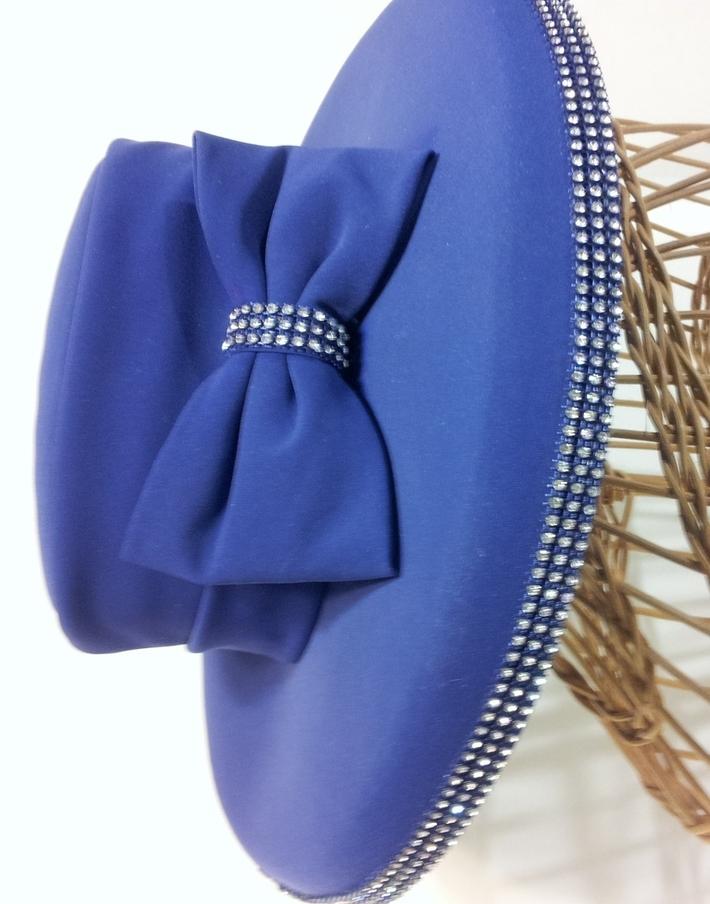 purple fabric hat 1