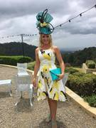 Hat by Maree DeGraw Modelled by Aileen Jackson won Fashion at Maleny Manor Qld2016