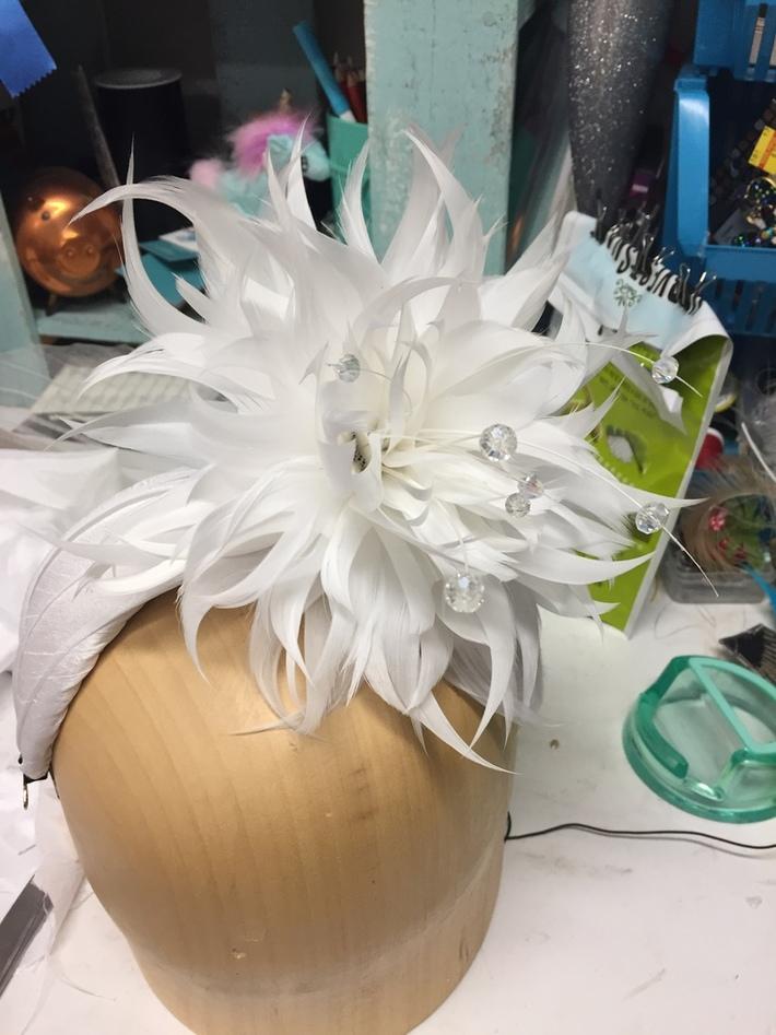 Bridal Juliet Cap