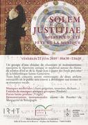 Fête de la Musique à la Bibliothèque Ste-Geneviève