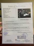 GNR guitar JSA letter