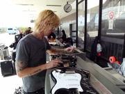 Duff signing GNR guitar