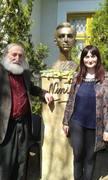 Cu marele prieten al lui Nichita Stănescu,poetul sârb,Adam Puslojic la Muzeul Nichita Stanescu