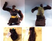 gorilla fur