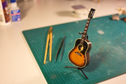 Miniature guitar personal project