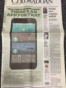 coloradoan front page article dec 2015