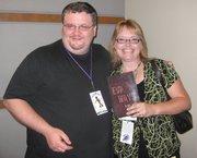 Ellen and author Bobby Nash