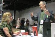 Rob Brun, artist and reader