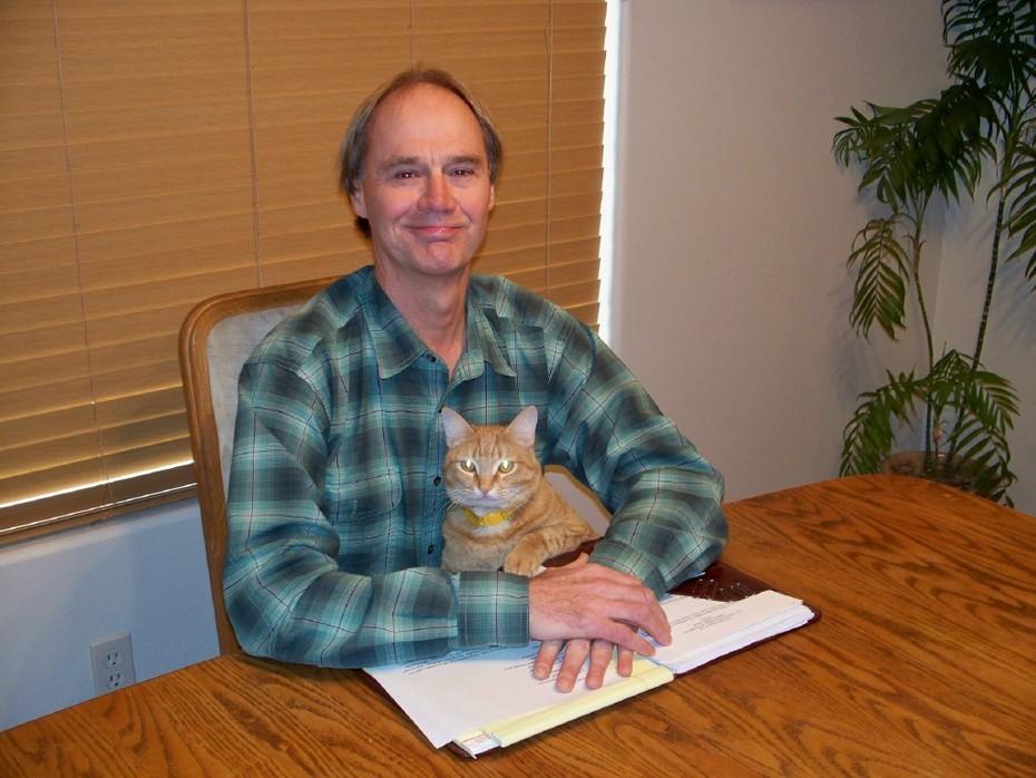 Tom Garrison & Dave the Wonder Cat